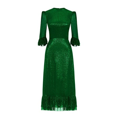 Code The Metallic Falconetti Dress Emerald Green 01 1024x1024