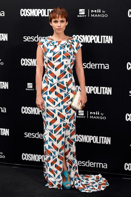 Aura Garrido Carolina Herrera New York Mejor Vestidas 2014