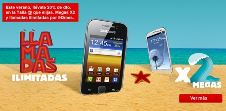 Promoción verano 2012 Vodafone