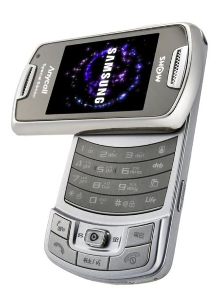 Móvil de Samsung con pantalla AMOLED