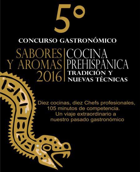 5º Concurso Gastronómico Sabores y Aromas 2016: cocina prehispánica y más