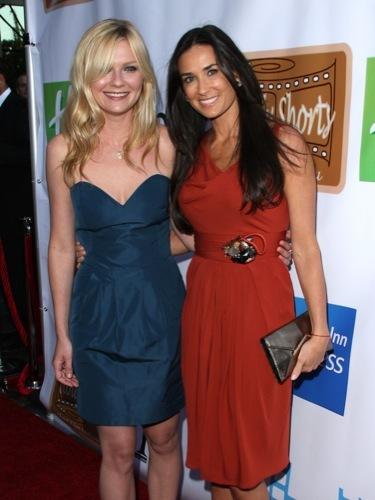 Kirsten Dunst y Demi Moore, juntas y con estilo