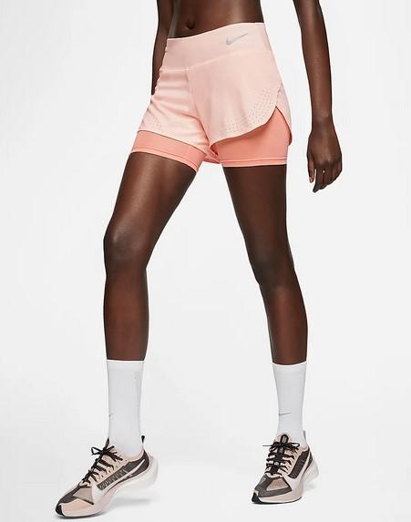 Pantalón corto de running 2 en 1 - Mujer Nike Eclipse