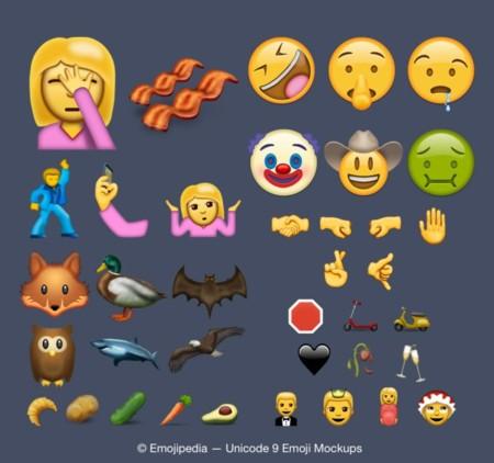 Para todos los gustos: estos son los 74 nuevos emojis que llegarán a tu iPhone en 2016