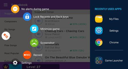 Samsung Game Launcher y Game Tools: qué son y para qué sirven