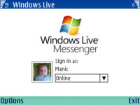 Windows Live Messenger para Series 60