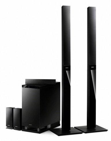 Sony pone el toque 3D en sus nuevos cine en casa