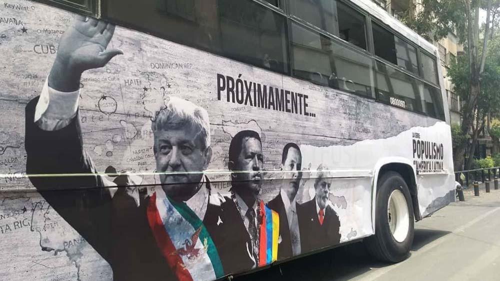 'Populismo en América Latina', la serie que está en Prime Video, fue financiada con dinero ílicito: AMLO