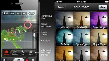 Camera+ se actualiza para seguir siendo una aplicación de referencia en iOS