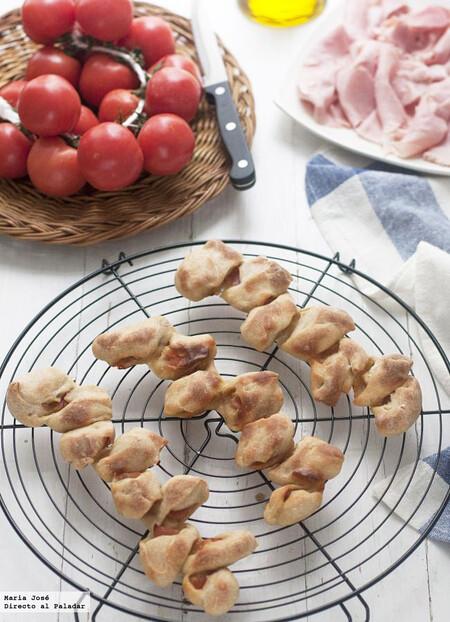 Espigas De Pan Rellenas De Bacon