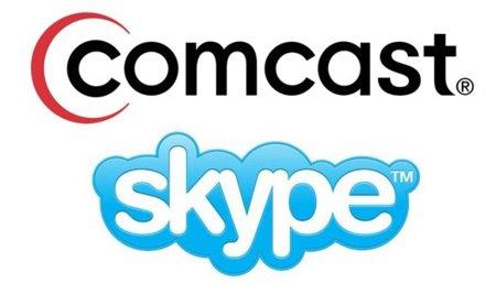 Comcast se alía con Skype para llevar las videollamadas HD a los televisores