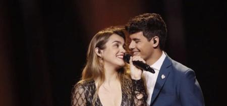 Este es el vestido que lucirá Amaia para la gala de Eurovisión 2018, lo firma Teresa Helbig y otra famosa española ya lo tiene