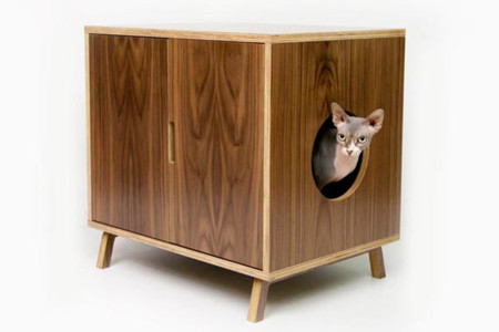 Mueble Retro Gato