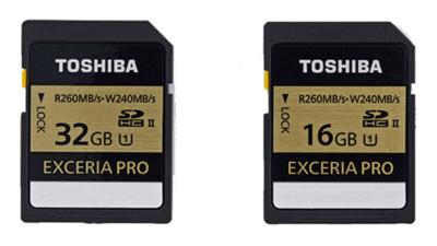 Toshiba presenta sus nuevas memorias SD más rápidas