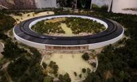 El SpaceShip del Apple Campus 2 empieza a levantar su estructura