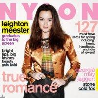 Leighton Meester imparable con seis portadas en el mes de Febrero 2011