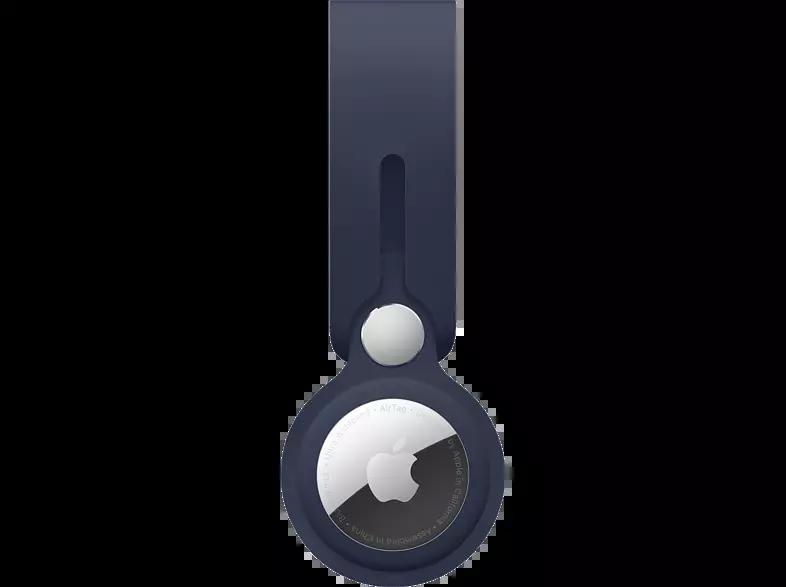 Correa - Apple AirTag MHJ03ZM/A, Correa Loop de poliuretano, Azul marino intenso