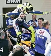 Valentino Rossi y las leyendas del deporte