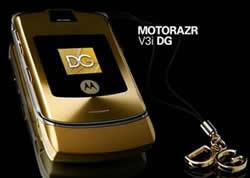 D&G Gold RAZR