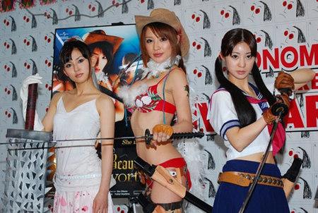 'Onechanbara Zombie Slayers', recibirá otra película más... sexy. ¡Bien!