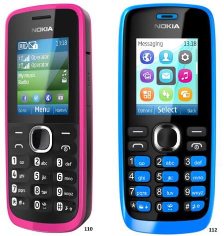 Nokia 110 112