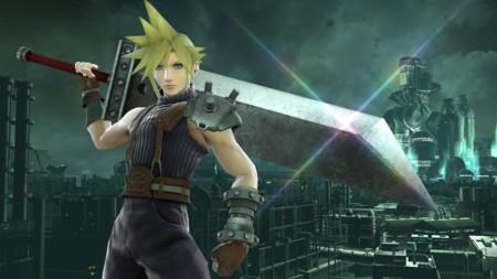 Cloud se une al reparto de Super Smash Bros.