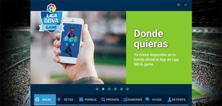Liga BBVA Game: juega y gana premios mientras vives toda la pasión del fútbol