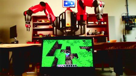 Minecraft es el entrenamiento perfecto para que estos robots aprendan a resolver problemas