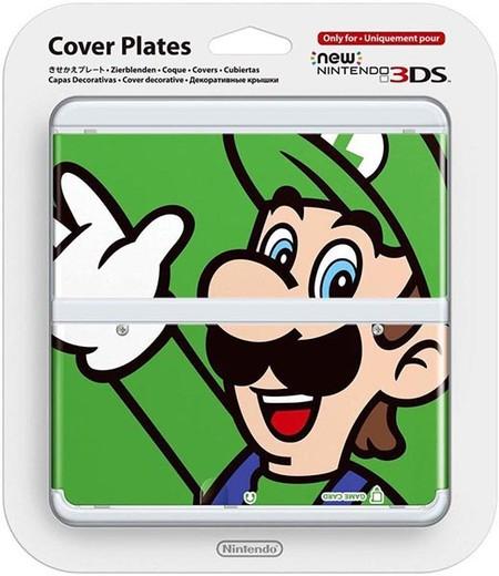 Cubiertas New Nintendo 3ds Luigi