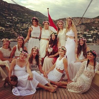 Las Vírgenes Suicidas de la jet set celebran la boda de Tatiana Santo Domingo