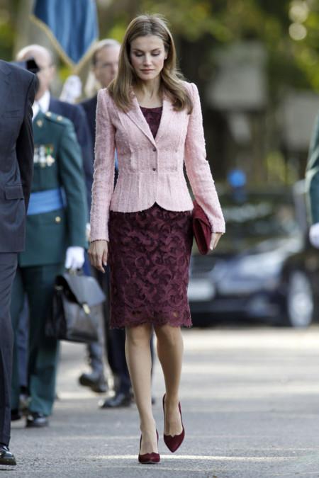 La princesa Letizia sigue apostando por Felipe Varela