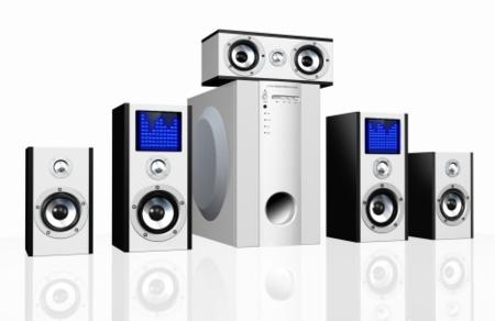 BluTiger Computer Speakers, sistema 5.1 con LEDs