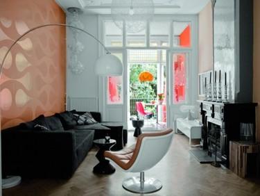 Puertas abiertas: un apartamento ecléctico