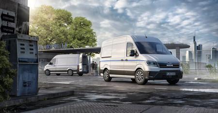 Hasta 160 kilómetros de autonomía para la MAN eTGE: una furgoneta eléctrica prima de la e-Crafter