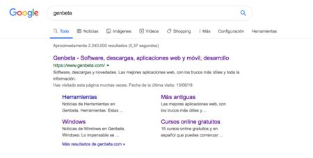 La búsqueda de Google estrena un nuevo diseño que ahora incluye iconos