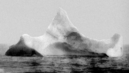 The Iceberg That Sunk The Titanic 1912