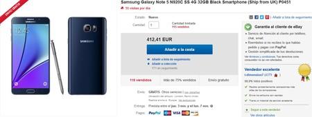 Samsung Galaxy Note 5 N920c Ebay