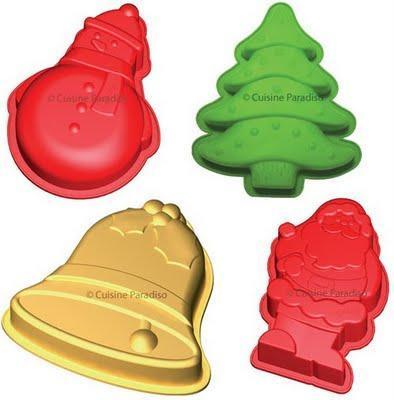 Navidad: moldes para unas tartas festivas