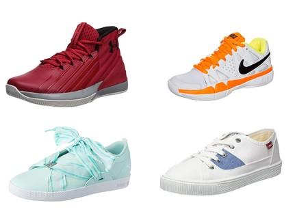 Chollos en tallas sueltas de zapatillas Nike, Under Armour y Levi's en Amazon por menos de 30 euros