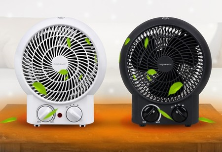 Chollo en eBay para calentarte barato:  calefactor compacto Aigostar Airwin 33IEK por sólo 16,99 euros con envío gratis