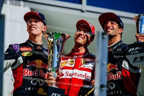 Impredecible Gran Premio de Hungría con victoria de Sebastian Vettel recordando a Bianchi