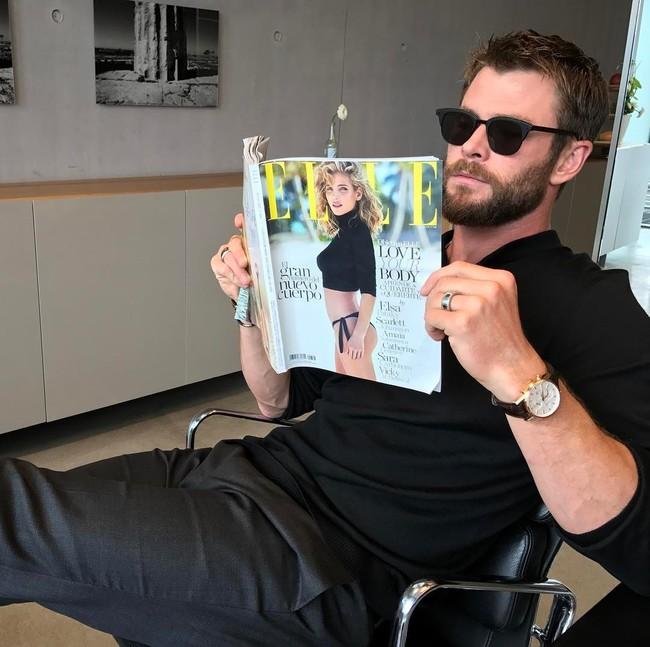 Chris Hemsworth también se enfada con la prensa. Los famosos están que arden