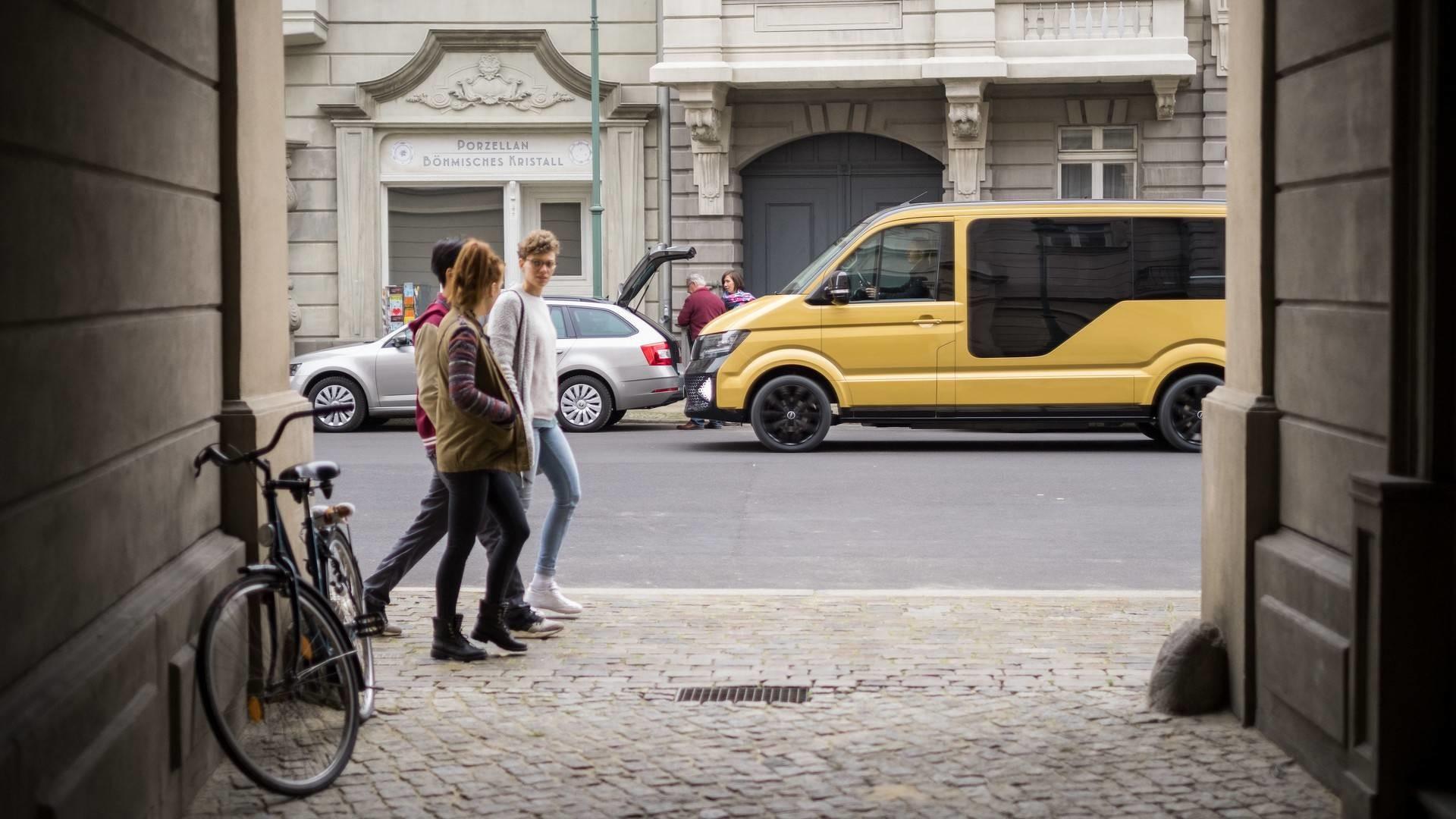 Foto de MOIA Volkswagen Crafter EV (6/18)