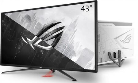 ASUS ROG Strix XG43UQ: monitor gaming 4K con dos puertos HDMI 2.1 y hasta 144 Hz en pantalla