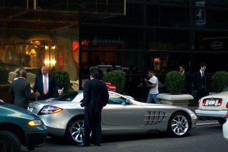 Donald Trump Mercedes SLR McLaren