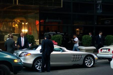 Donald Trump Mercedes SLR McLaren