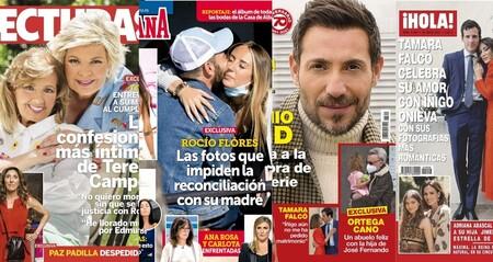 Antonio David Flores contra la productora de 'Sálvame', la amiga no tan secreta de Iker Casillas y una dosis de las Campos: estas son las portadas de la semana del 19 de mayo