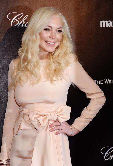 celebrities rubio pelirrojo melena cabello pelo Lindsay Lohan