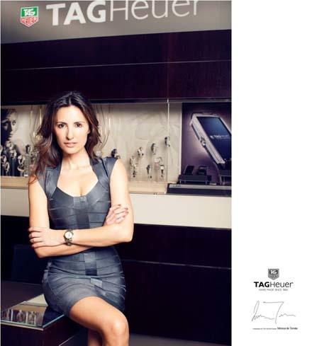 Tag Heuer elige a Mónica de Tomás como embajadora nacional