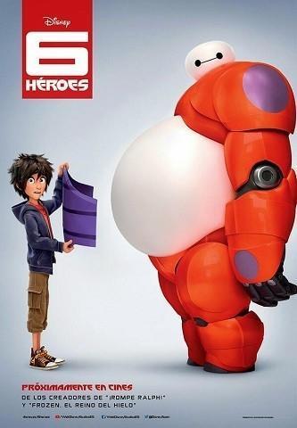 Disney nos presenta 6 héroes (Big Hero Six) que se estrenará en España en diciembre 2014